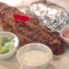 Steak Sandwich 8 oz w/ Fries & Caesar Salad