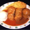 Cabbage Rolls w/ Mashed Potatoes