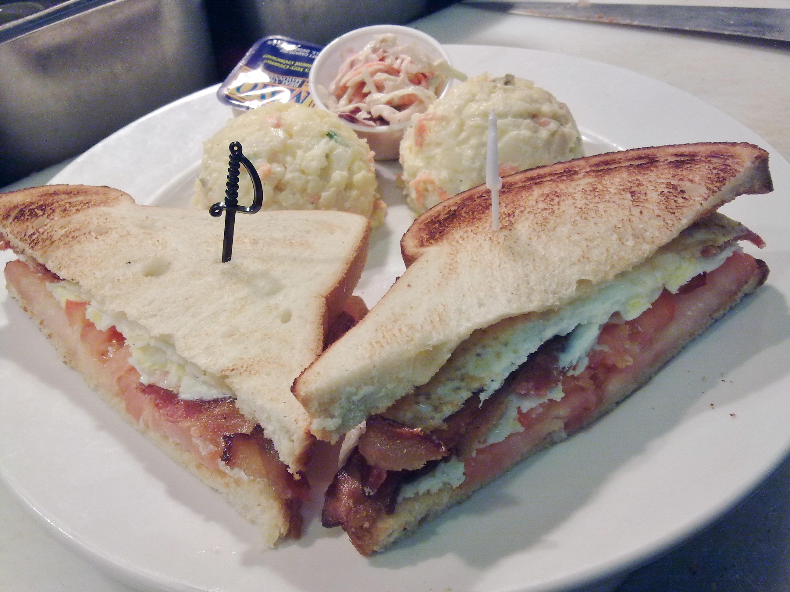 Bacon, Tomato & Egg